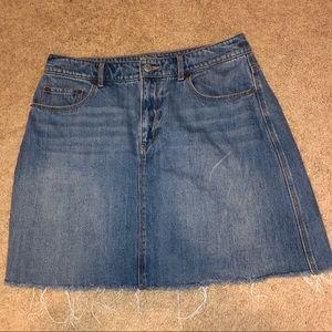Old navy mini denim skirt